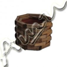 Дървена кашпа -   иглолистна дървесина  /ф30/