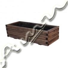 Дървена кашпа -    иглолистна   дървесина  /532219/