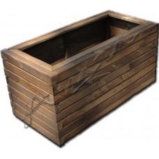 Дървена кашпа -    иглолистна   дървесина  /805041/